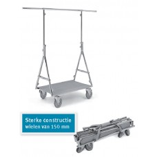 Kledingrekken Vouwrek Fashion Trolley Elite